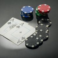 Poker Chips, Pocket Aces